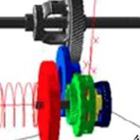双模式多级齿轮传动机构受迫振动特性分析