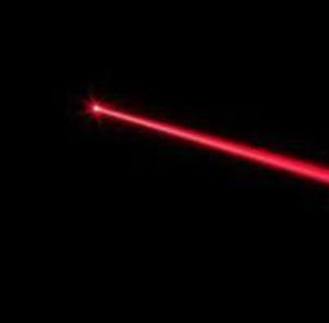激光将在哪个波长发射?